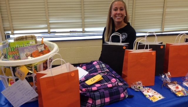 West Side Community Day 2014- the community donates items